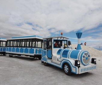 茶卡盐湖景区游览路线